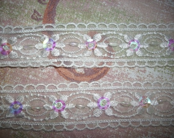 Lace ribbon, 1m (411)