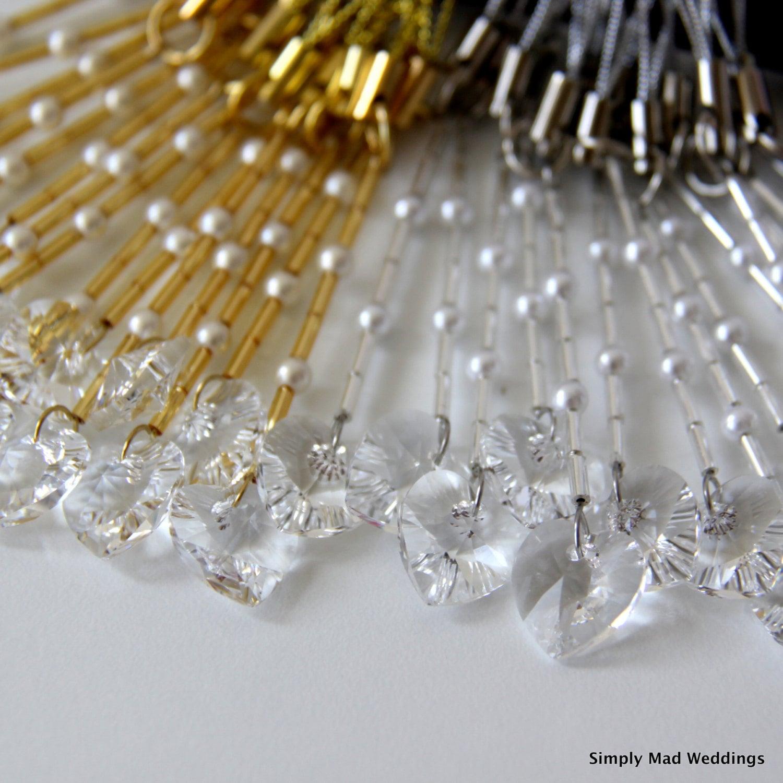 Unique Wedding Favors Silver or Gold Wedding