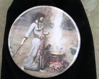 Magic Circle Pocket Mirror