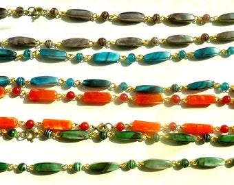Vintage Glass Bead Necklaces