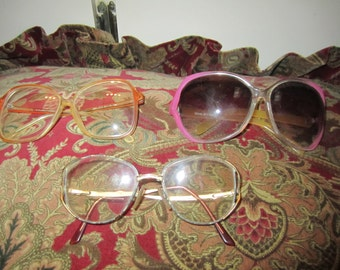 Vtg Glasses/Sunglasses Lot Of  3