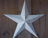 Heavy Duty 24 Inch Barn Star Painted Handcrafted in the USA using Galvanized Steel to Prevent Rusting