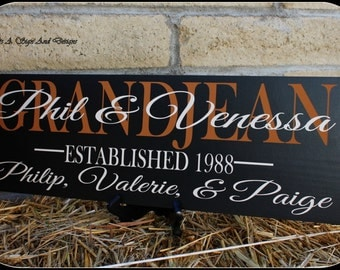 25th Wedding Anniversary Gift, 25th Anniversary Decoration, 25th Anniversary Ornament 5th Anniversary Wood Sign, Anniversary Gift for Parent