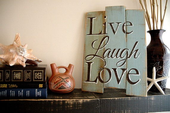 Live Laugh Love Wall Hanging Decor Available in 3 Colors  Live Laugh Love Wall Decor