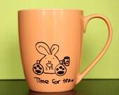 Tea Time Bunny Mug