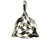 Triquetra Celtic Knotwork Pendant