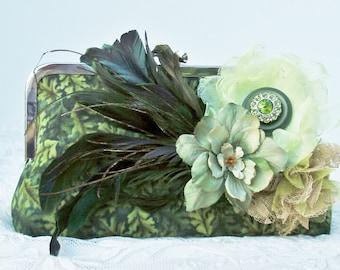 Fall Wedding / Green Wedding / Autumn Bride / Bridesmaid Gift