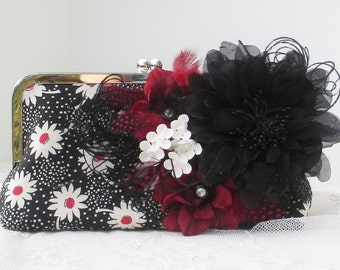 50's Handbag / Funky Wedding / Bridesmaid Gift / Vintage 50's Wedding