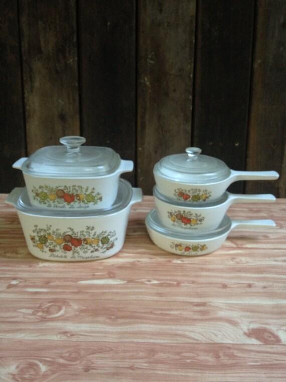 Corningware 10 Piece Set