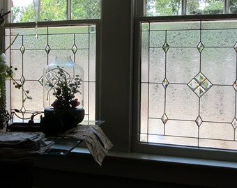 Stained Glass Windows with Bevels