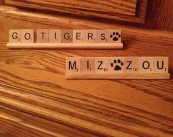 MIZZOU TIGERS Set Of 2 Mizzou Decor Dorm College Students