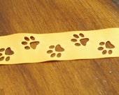 """1-1/2"""" Paw Print Cut-Out Ribbon"""
