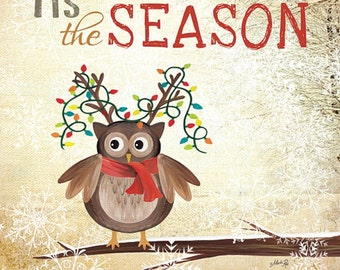 MA686 - Tis the Season Owl