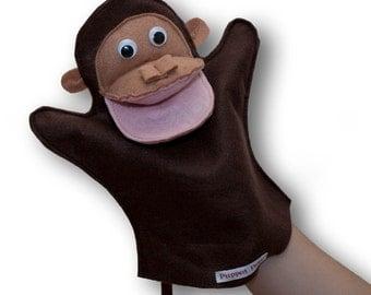 Handmade Cute Puppet for Children  - Cheeky Monkey