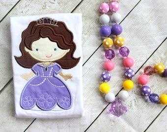 princess sofia shirt princess sofia the first outfit applique top purple birthday princess sofia shirt girls giirl toddler