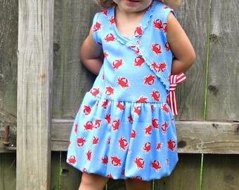 Magic Gumdrop Bubble Dress - Tunic PDF pattern - Newborn - 12-14y