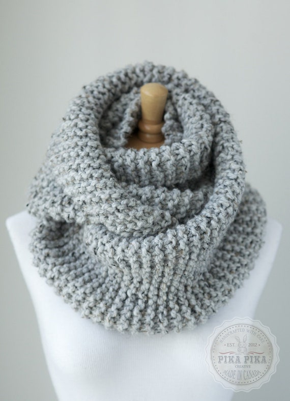 The Openwork Infinity Scarf is a great choice if you love a super chunky style. If you're crafty, this is a really simple, easy, fast design to make. It's warm, eye-catching, and .