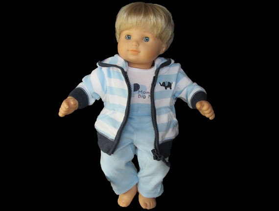 15 inch doll clothes / Boy Bitty Baby / Bitty Baby Twins