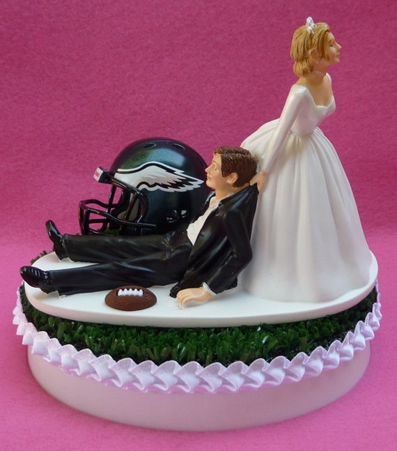 Eagles Football Cake Toppers