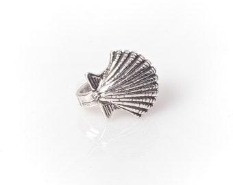 Silver Seashell Ear Cuff