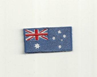 Tiny Australian Flag Patch! Custom Made!