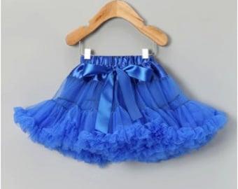 Gorgeous Royal Blue Full Premium Pettiskirt