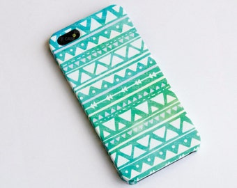 Geometric Mint Pastel iphone case, iPhone 6 case, iPhone 5s case, iphone 4s case, plastic iphone case