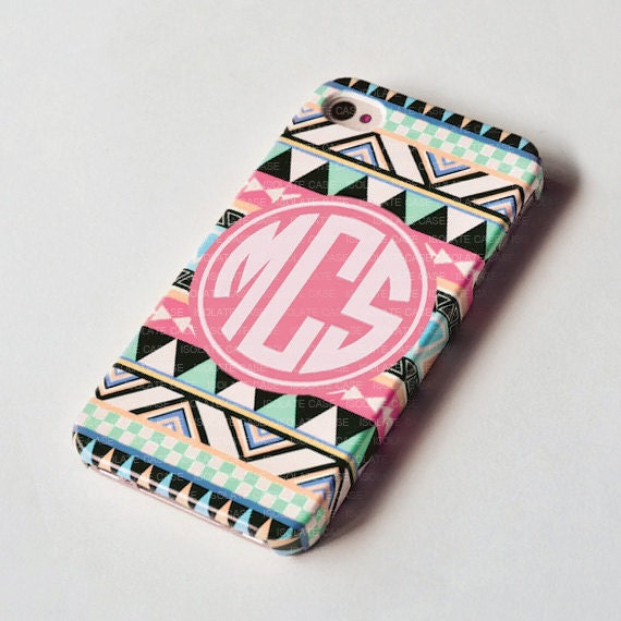 personalized iphone cases items similar to personalized aztec iphone 6 3116