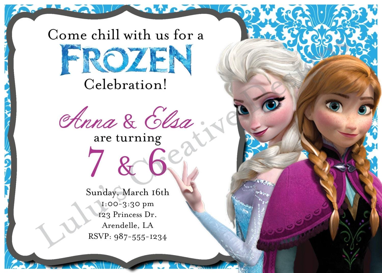 Elsa birthday invitations gangcraft frozen jointdouble invitation birthday by oliviatulldesigns birthday invitations stopboris Choice Image