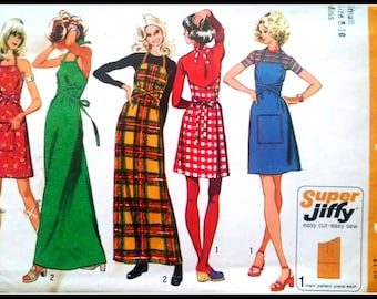 Simplicity 5021 Misses' Super Jiffy Back-Wrap Dress or Jumper  Size Small(8-10)