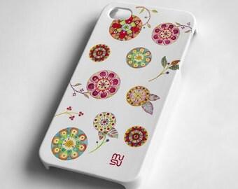 Flowers - iPhone 4 4S Case - IP4 IP4S Cover - Plastic iPhone4 Case