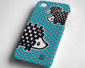 Hedgehog - iPhone 4 4S Case - IP4 IP4S Cover - Plastic iPhone4 Case