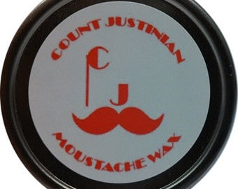 Count Justinian Moustache Wax - Empire Collection (Peppermint)