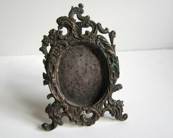 antique brass table frame