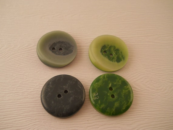buttons green buttons two shades to select from 1 inch
