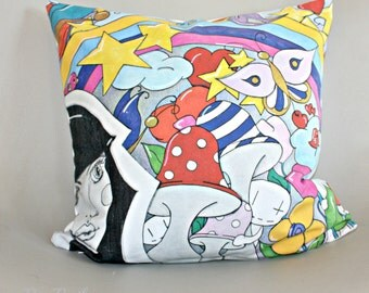 Dream cushion printed in France by Erika