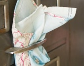 Military Escape Map Silk Pocket Square by Put This On W2014