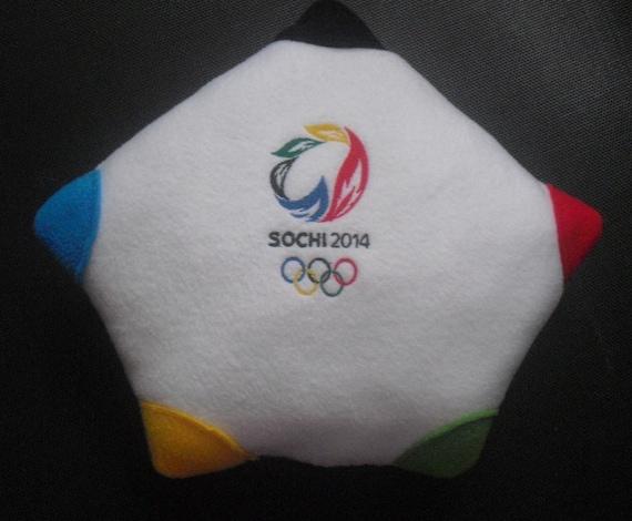 Sochi 2014 Winter Olympics Games pillow