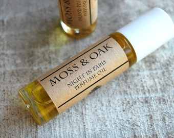 Night In Paris Roll On Perfume     Rose / Lavender / Moss / Amber / Cypress    .35 oz