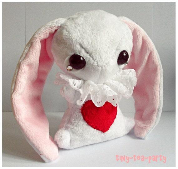 Are You Alice White Rabbit White Rabbit Plushie Alice
