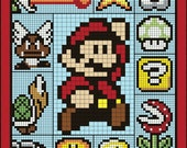Super Mario Brothers Quilt Along & BOM Club - Full Quilt Kit