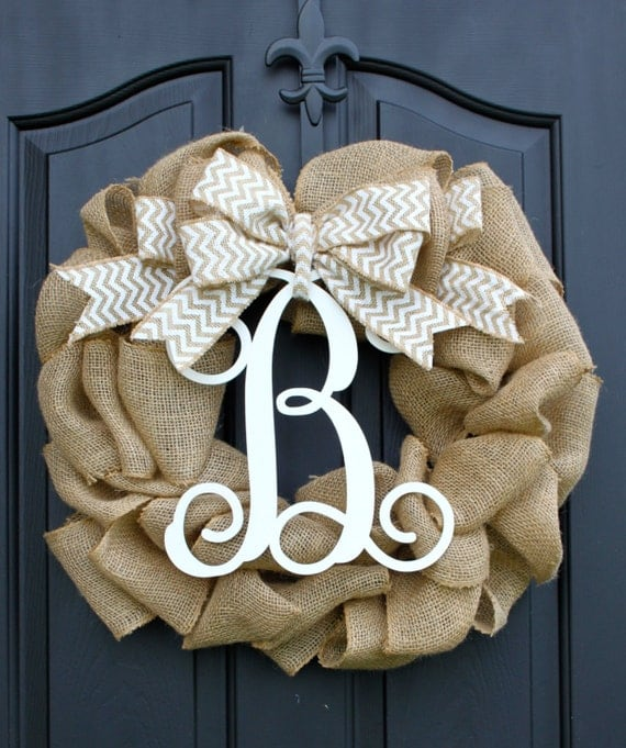 Burlap wreath wreath for door summer wreath by oursentiments - Spring Wreath Burlap Wreath Etsy Wreath By Oursentiments