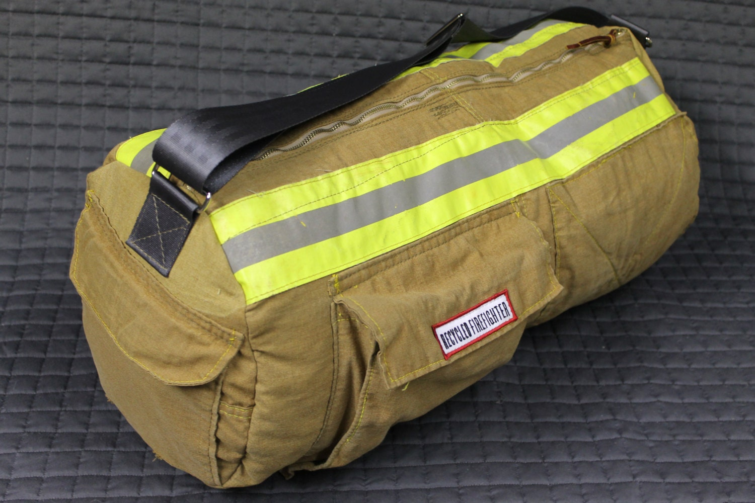 Recycled bunker gear bags -  Zoom