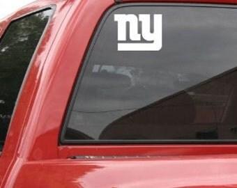 New York Giants Decal