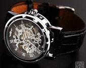 Mens Steampunk Watch (W0200)