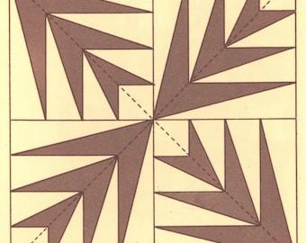 Vintage Hosannah PDF Quilt Pattern 85x102