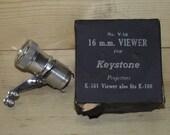 Keystone 16mm Viewer No V 16