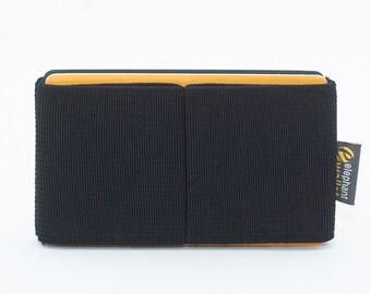 Minimalist wallet for men or women, credit card holder, elastic slim wallet, youth wallet, modern design, E8 wallet, Elephant Wallet