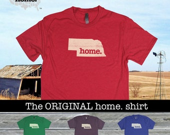 Nebraska Home shirt- Men's/Unisex Next Level