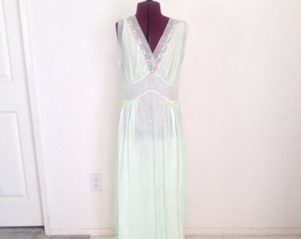 Vintage 1950s Nightgown